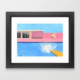 Splash! after David Hockney Framed Art Print