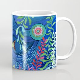 Botanical Sea Garden Coffee Mug