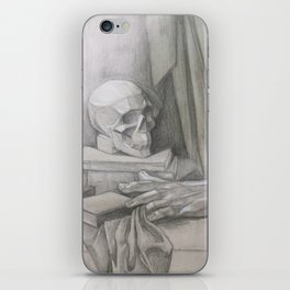 academic drawing iPhone Skin