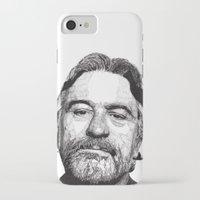 robert farkas iPhone & iPod Cases featuring Robert by Rik Reimert