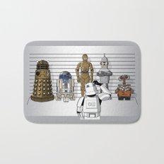 Star Wars Droid Lineup Bath Mat