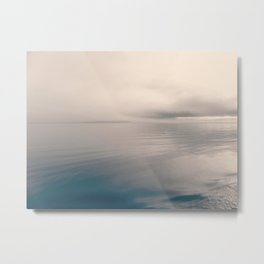 Abstract air and water | landscape Metal Print