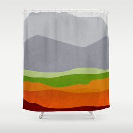 Mountains 10 Shower Curtain