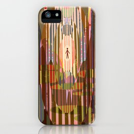 Longing To Be Outside iPhone Case
