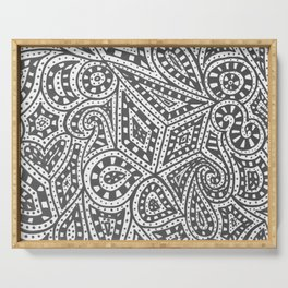 Doodle 9 Serving Tray