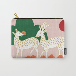 kitschclassic_deer Carry-All Pouch