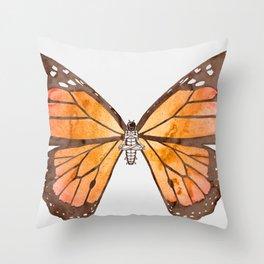 Caterpillar's nirvana Throw Pillow