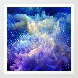 Majestic Clouds of Heaven Art Print