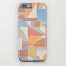 1 Inch Manila Grid iPhone 6s Slim Case