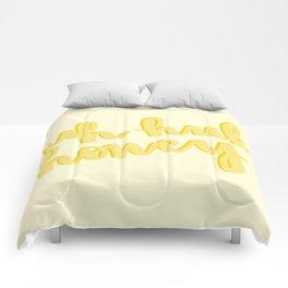 Uh Huh Honey Yellow Comforters