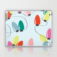 Holiday Lights Laptop & iPad Skin