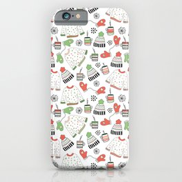 Warm Winter Wear iPhone Case