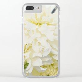 Cream Peonies | Flowers | Flower | Florals | Nadia Bonello | Canada Clear iPhone Case