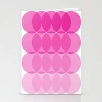 ombre Stationery Cards featuring Ombre by TypeArtist