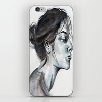 lucy iPhone & iPod Skins featuring Lucy by Chloe Gibb