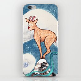 Winter Goat iPhone Skin