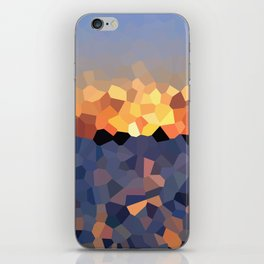 Sunset at the Lake iPhone Skin