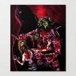 NECROBEAST Canvas Print