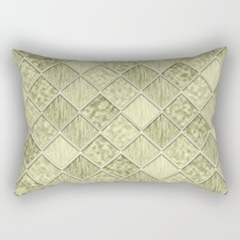 Colorful Seamless Rectangular Geometric Pattern III Rectangular Pillow