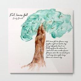 Fall, Leaves, Fall Metal Print