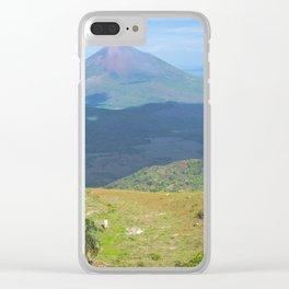 Camping El Hoyo, Nicaragua Clear iPhone Case