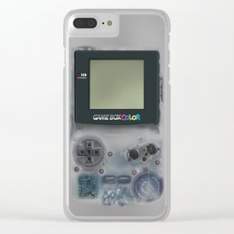 Classic retro transparent white grey game watch iPhone 4 5 6 7 8, tshirt, mugs and pillow case Clear iPhone Case