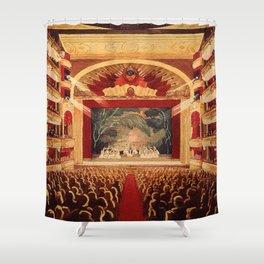 The Old Bolshoi Theater Shower Curtain