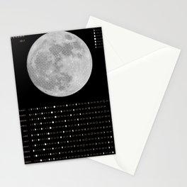 2017 Calendar - Lunar Stationery Cards