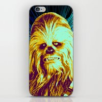 chewbacca iPhone & iPod Skins featuring Chewbacca by victorygarlic
