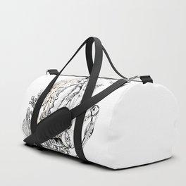 A woman as sign Virgo Duffle Bag