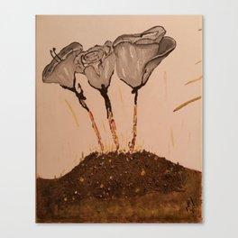 Human Being Origin Canvas Print