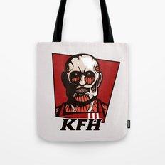 Kentucky Fried Human Tote Bag
