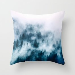 Out Of The Darkness - Nature Photography Throw Pillow