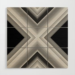 Planetary Displacement Wood Wall Art