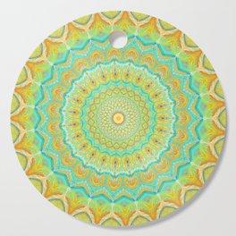 Citrus Burst - Mandala Art Cutting Board