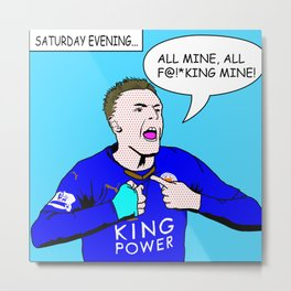 Vardy's Party (Sweary) Metal Print