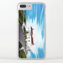 Battery point Lighthouse ( Crescent City, CA ) Clear iPhone Case