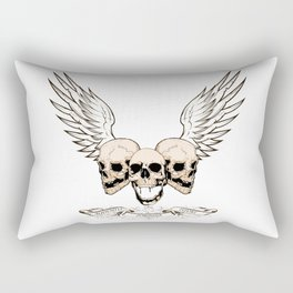 Fortune Favors The Brave Rectangular Pillow