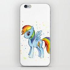 Rainbow Dash iPhone & iPod Skin
