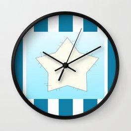 Star on stripes Wall Clock