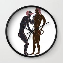 Greek gay rituals Wall Clock