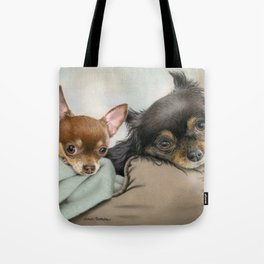 Like Two Chi's In A Pod Tote Bag