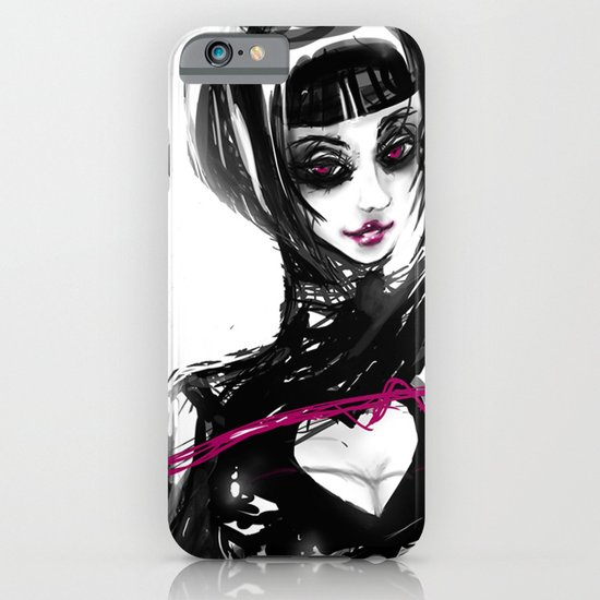 The pink whip iPhone & iPod Case