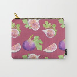 Figs fruit watercolor pattern Carry-All Pouch