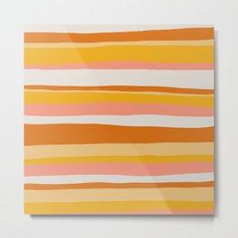 sedona, desert stripes Metal Print