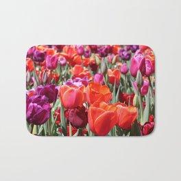 Warm Tulips Bath Mat