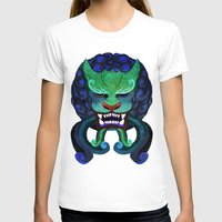 foo fighters T-shirts featuring Foo dog by kitsunebis