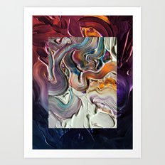 Falling Out Art Print