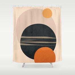 Abstract Shapes 12 Shower Curtain