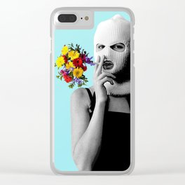 flower smoke Clear iPhone Case